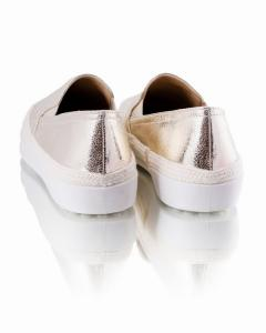 Фото Женщинам, Женская обувь, Женские слипоны Слипоны золотистые