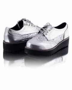 Фото Женщинам, Женская обувь, Женские туфли Серебристые туфли
