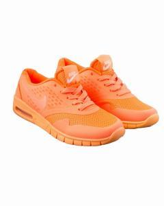 Фото Женщинам, Женская обувь, Женские кроссовки Кроссовки оранжевые на шнуровке