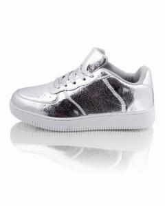 Фото Женщинам, Женская обувь, Женские кроссовки Кроссовки серебристые
