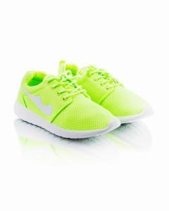 Фото Женщинам, Женская обувь, Женские кроссовки Кроссовки салатовые на шнуровке
