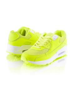Фото Женщинам, Женская обувь, Женские кроссовки Кроссовки лимонного цвета