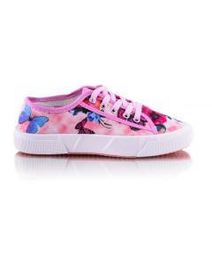 Фото Женщинам, Женская обувь, Женские кеды Кеды розовые с цветочным принтом