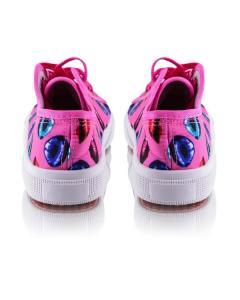Фото Женщинам, Женская обувь, Женские кеды Кеды розовые с принтом