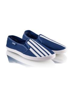 Фото Мужчинам, Мужская обувь, Мужские кеды Синие кеды в полоску
