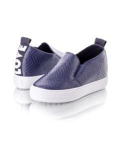 Фото Женщинам, Женская обувь, Женские слипоны Слипоны синие