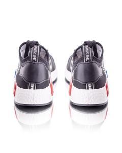 Фото Женщинам, Женская обувь, Женские кроссовки Кроссовки черные на шнуровке