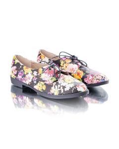 Фото Женщинам, Женская обувь, Женские туфли Туфли в цветочек