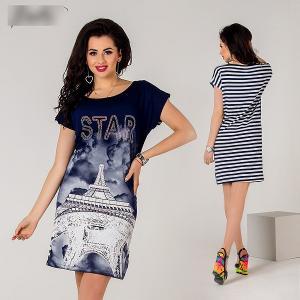 Фото Женщинам, Женская одежда, Платья, туники Платье 433993