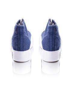 Фото Женщинам, Женская обувь, Женские кеды Кеды джинсовые