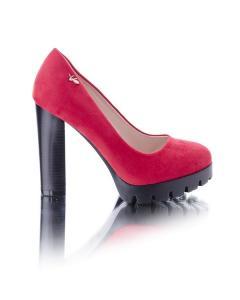 Фото Женщинам, Женская обувь, Женские туфли Замшевые туфли на каблуке