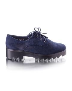 Фото Женщинам, Женская обувь, Женские туфли Замшевые синие туфли