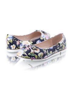 Фото Женщинам, Женская обувь, Женские балетки Балетки с цветочным принтом