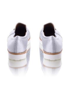 Фото Женщинам, Женская обувь, Женские слипоны Серебристые слипоны