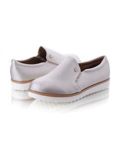 Фото Женщинам, Женская обувь, Женские туфли Серебристые спортивные туфли