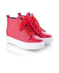 Фото Женщинам, Женская обувь, Женские кеды Кеды высокие на шнуровке