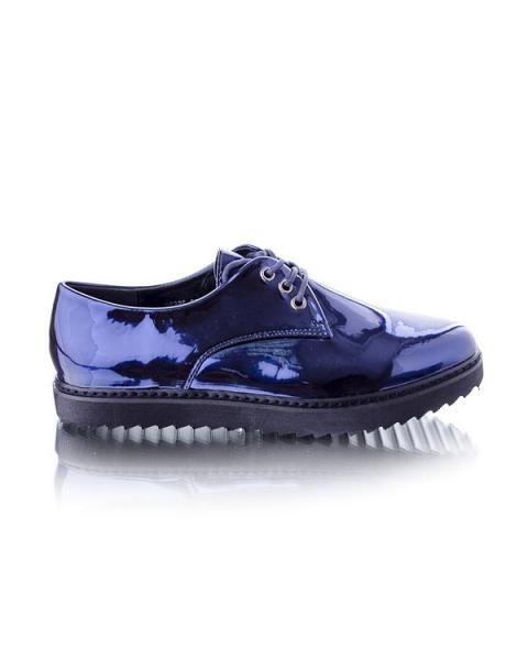 Туфли оксфорды синие