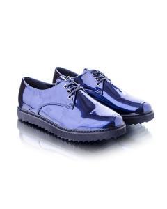 Фото Женщинам, Женская обувь, Женские туфли Туфли оксфорды синие