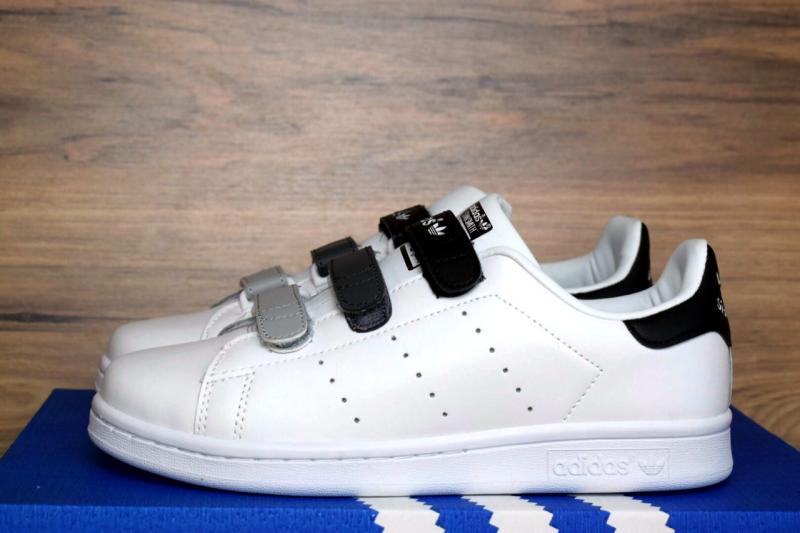 Фото  Adidas Stan Smith White Black (36-40)