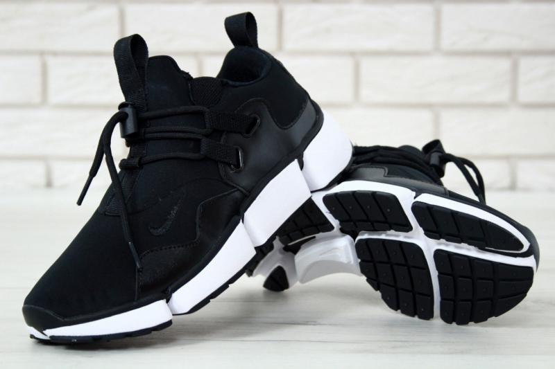 Фото  Nike Pocket Knife DM Black White (41-45)