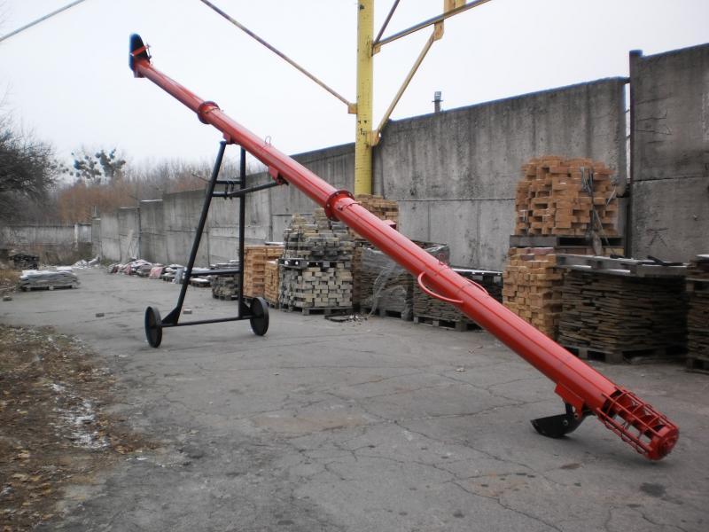 Загрузчик шнековый передвижной ЗШП-10 (9 метров)