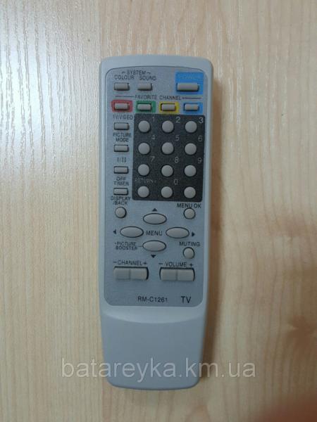 Пульт ДК JVC   RM-C1261