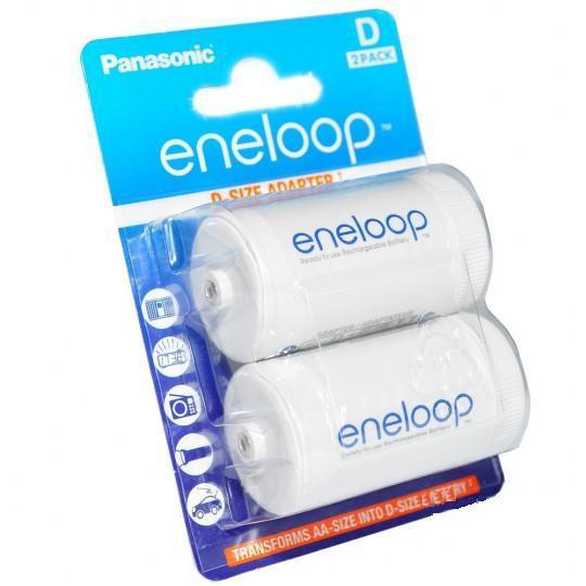 Адаптер-переходник Panasonic Eneloop с пальчикового аккумулятора АА на D