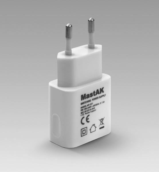 USB адаптер MastAK MF-221 1000mAh