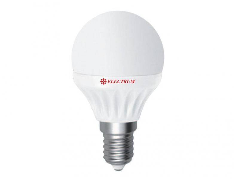 LED лампа Electrum LB-12 6W E14 4000K (яркий свет)
