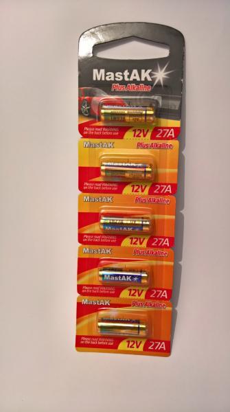 Батарейка MastAK Plus Alkaline 12V 27A ( LR27A)