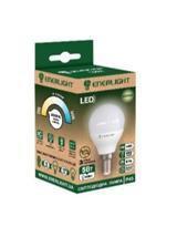 Лампа светодиодная ENERLIGHT P45 6Вт 3000K E14