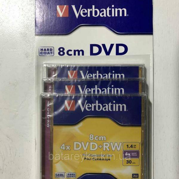 Диск VERBATIM 8cm DVD+RW 1,4Gb 4x