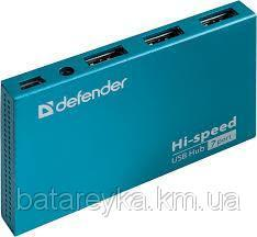 USB-хаб DEFENDER SEPTIMA SLIM USB 2.0 (83505)