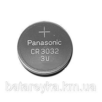 Дисковая батарейка PANASONIC Lithium Cell 3V  CR3032