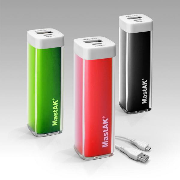 Power bank MastAK  MP-026 2600mAh