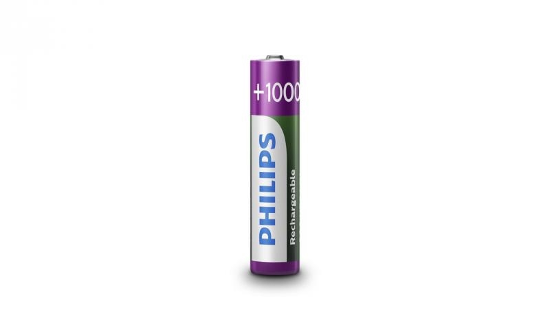 Аккумулятор PHILIPS Rechargeable AAA/R03 1000mAh Ready to Use