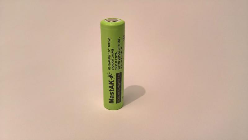 Аккумулятор технический MastAK AAA/R03 1,2V 1100mAh (Ni-Mh)
