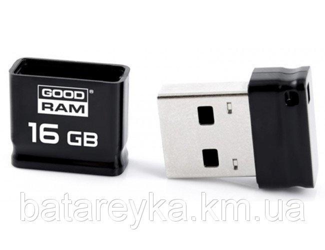 Флеш-драйв GOODRAM PICCOLO 16 GB BLACK