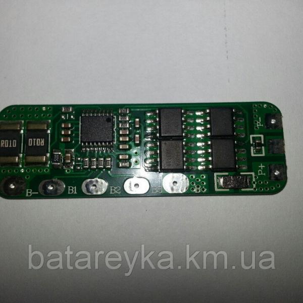 Плата защиты (PCM) для Li-Ion батареи 14,8В 4А 4S-EBD01-4