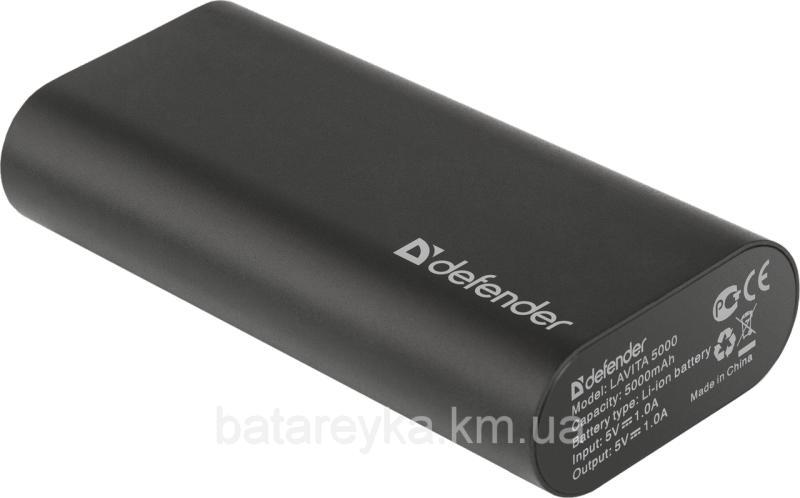Power bank Defender Lavita 5000 1 USB, 5000 mAh, 5V/1A