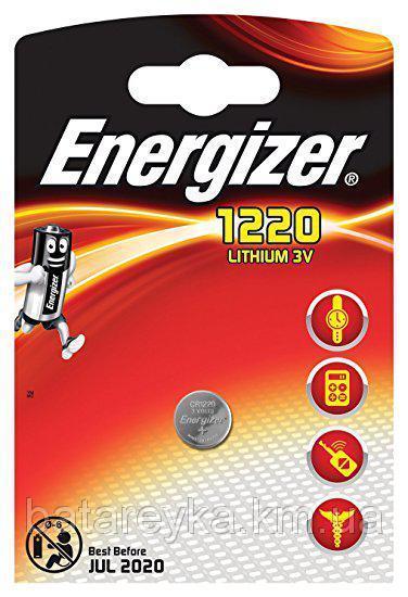 Дисковая батарейка Energizer Lithium Cell 3V CR1220