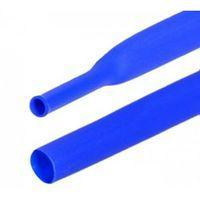 Термоусадочная трубка 18мм, синяя, 1м
