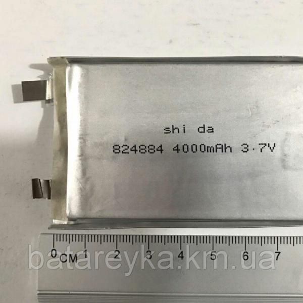 Литий-полимерный аккумулятор Shida 3,7V 4000mAh