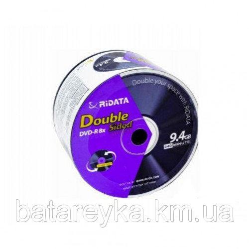 Двухсторонний дистк RIDATA DVD-R 9,4 Gb 8x Bulk (25 шт)
