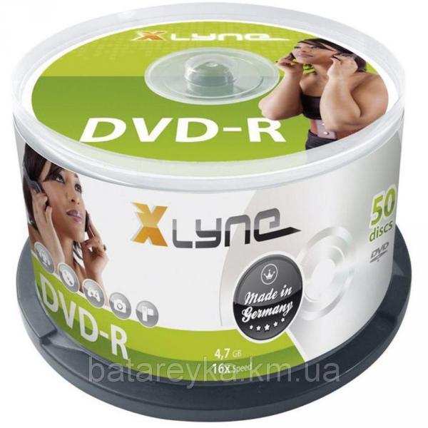 Диск XLYNE DVD+R 4,7 Gb 16x Cake (50 шт.)