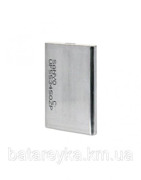 Литий-полимерный аккумулятор  SANYO Li-ion 1100mAh, 3,6V (5,1х34х50mm) 21gr.