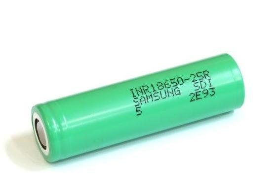 Аккумулятор SAMSUNG Li-ion 3,6V 2500mAh