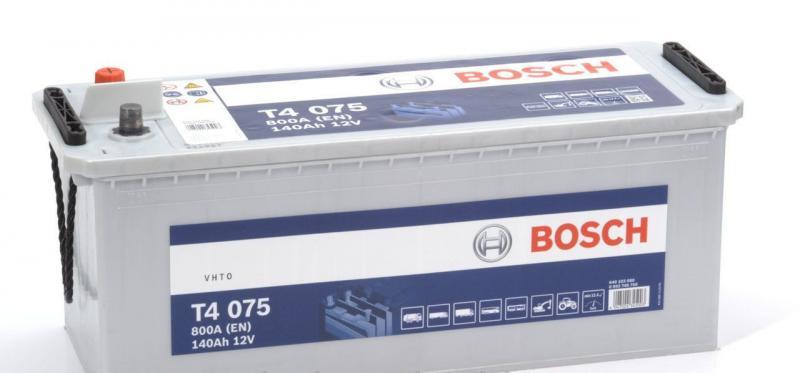 Аккумуляторная батарея Bosch Т4 12v 140Аh 800A