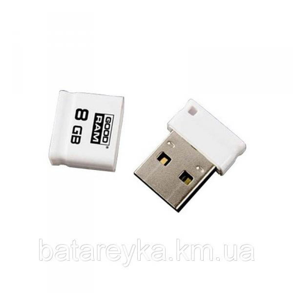 Флеш-драйв GOODRAM PICCOLO 8 GB White