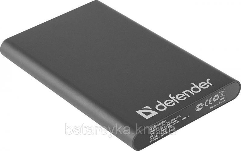 Power bank Defender Lavita 5000PL 1 USB, 5000 mAh, 5V/1A